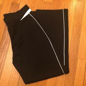 Athletic Works black Track Pants piped Track Pant
